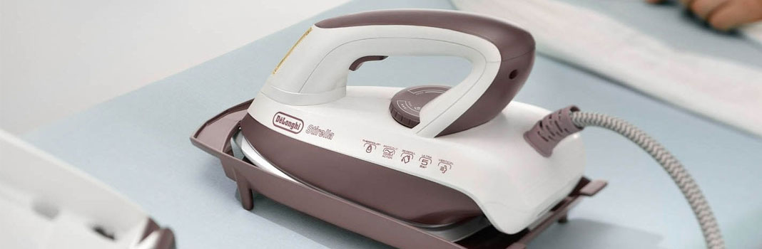 steam generator iron on table